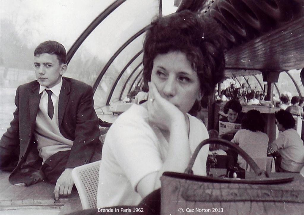 Brenda in Paris 1962.2